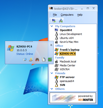 NeoRouter Free 2.3.2.4450 full